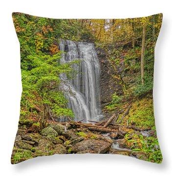Anna Ruby Falls Left Throw Pillow
