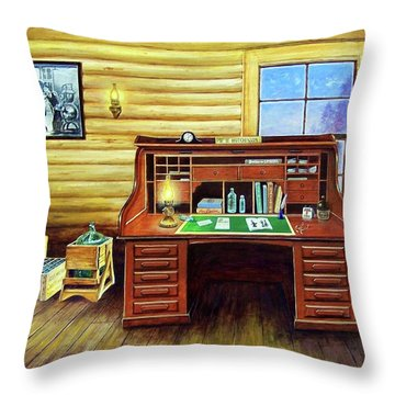 Another Day In The Books Throw Pillow