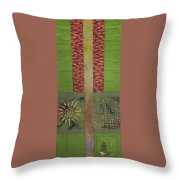 Another Fragment Of The Frontier Of Beauty Throw Pillow