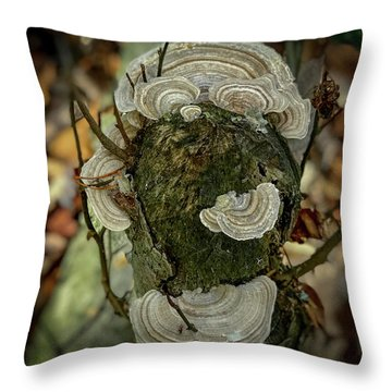 Another Fungus Throw Pillow