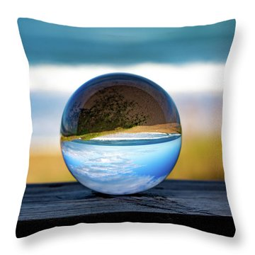 Another Look Through The Lens Throw Pillow