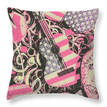 Anthems Of America Throw Pillow