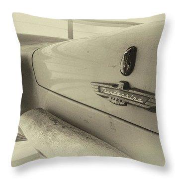 Antique Classic Car Vintage Effect Throw Pillow