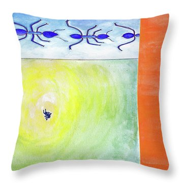 Ants Throw Pillow