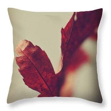 Throw Pillow featuring the photograph Anxious Nights by Michelle Wermuth