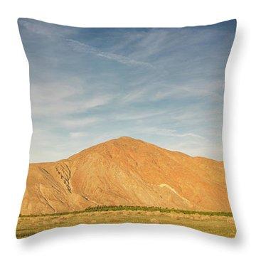 Anza Borrego Sunset Throw Pillow