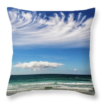 Aotearoa - The Long White Cloud, New Zealand Throw Pillow