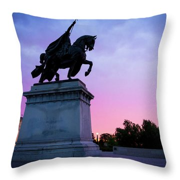 Apotheosis Of St. Louis, King Of France Throw Pillow