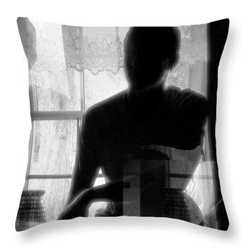 Apparition Throw Pillow