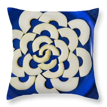 Throw Pillow featuring the photograph Apple A Day by Carl Young