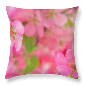 Apple Blossom 4 Throw Pillow