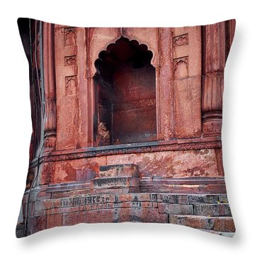Throw Pillow featuring the photograph Arch by Whitney Goodey