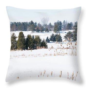 Ariss Golf Country Club Throw Pillow