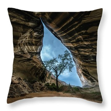 Arizona Cave Throw Pillow