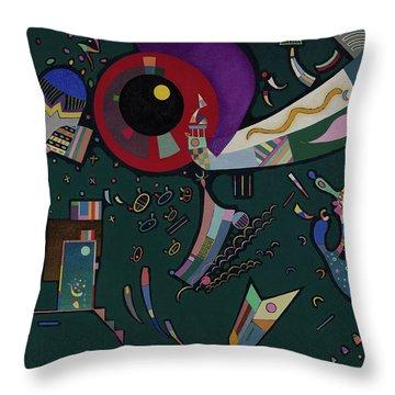 Around The Circle - Autour Du Cercle, 1940 Throw Pillow