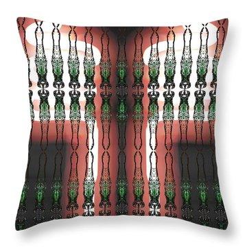 Art Deco Design 13 Throw Pillow