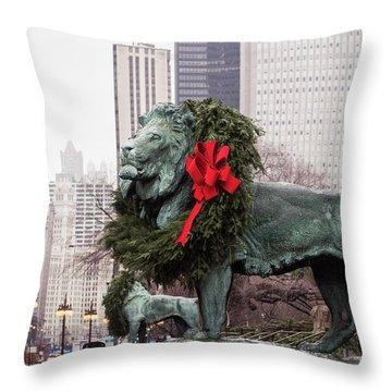 Art Institute Of Chicago Throw Pillow