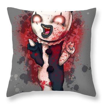 Art Plushie Throw Pillow