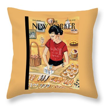 Arthur Avenue Throw Pillow
