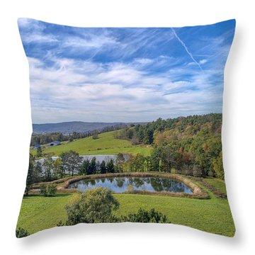 Artistic Hdr Sky  Throw Pillow