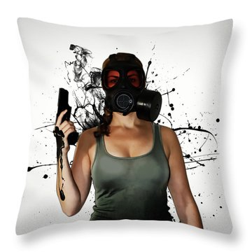 Bellatrix - Horizontal Throw Pillow