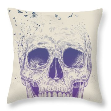 Let Them Fly Throw Pillow