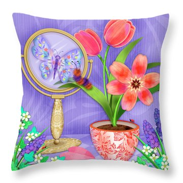 Reflection Of A Promise Throw Pillow