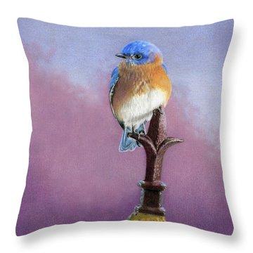 Morning Song Throw Pillows