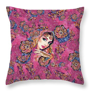 Kumari Throw Pillow