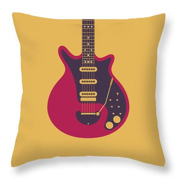Glam Rock Throw Pillows