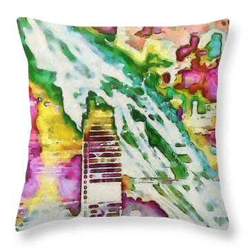 Go Ye Into All The World, And Preach The Gospel To Every Creature. Throw Pillow