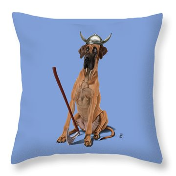 Throw Pillow featuring the digital art Great Colour by Rob Snow