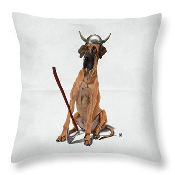 Throw Pillow featuring the digital art Great Wordless by Rob Snow