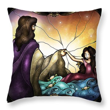 Talitha Koum Throw Pillow