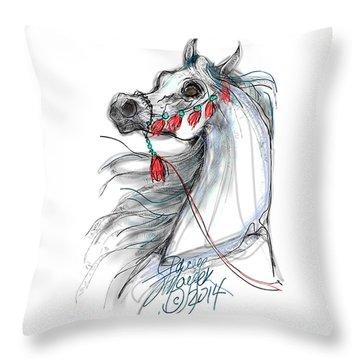 Always Equestrian Throw Pillow