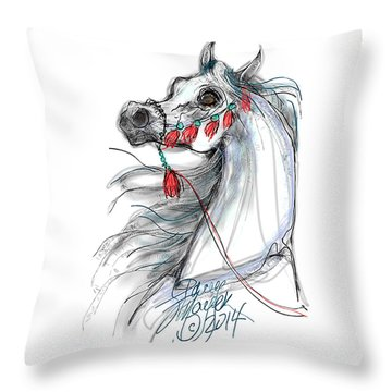 Always Equestrian Throw Pillow