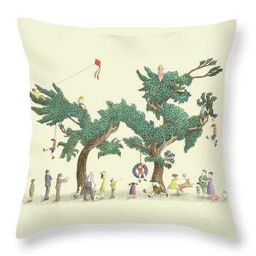 Bonsai Throw Pillows