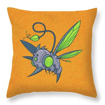 Honeybee Throw Pillows
