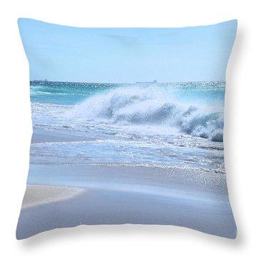 Aruba Sparkle  Throw Pillow