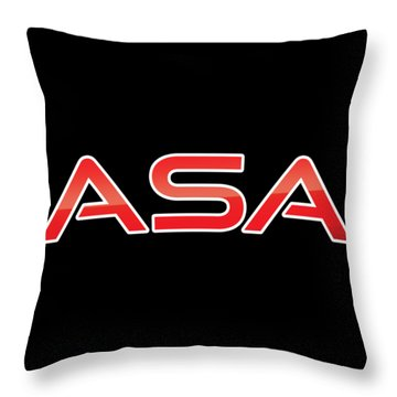 Throw Pillow featuring the digital art Asa by TintoDesigns