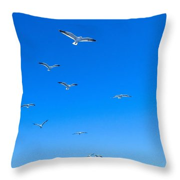 Ascending To Heaven Throw Pillow