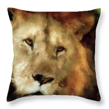 Aslan Throw Pillow