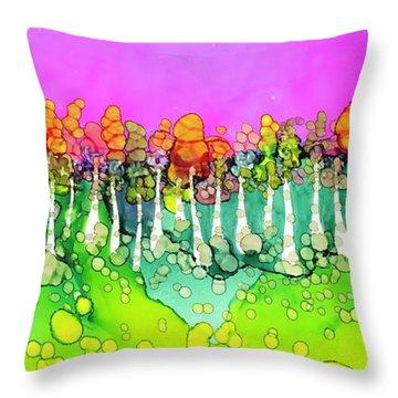 Aspen Sunset Throw Pillow