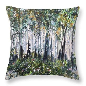 Aspenwood Throw Pillow