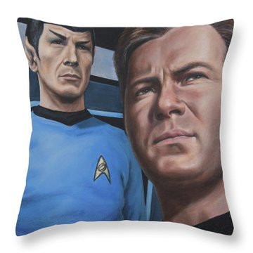 Assessing A Formidable Opponent Throw Pillow