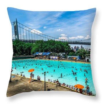 Astoria Pool Throw Pillow