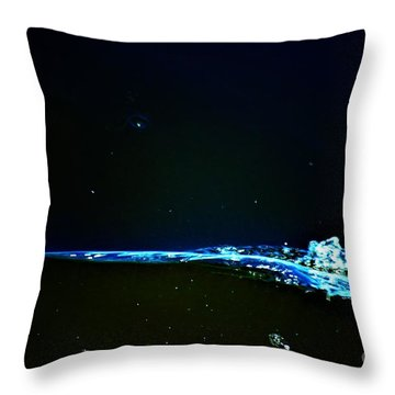 At The Dropoff Point Throw Pillow