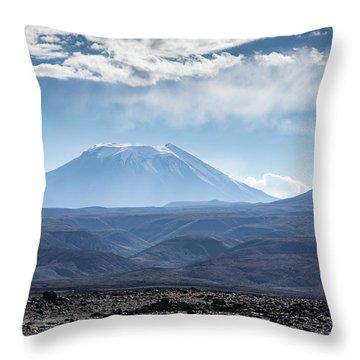 Atacama Volcano Throw Pillow