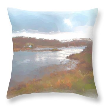 Atlantic View Throw Pillow
