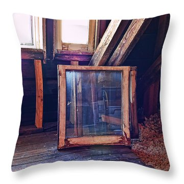Attic #1 Throw Pillow